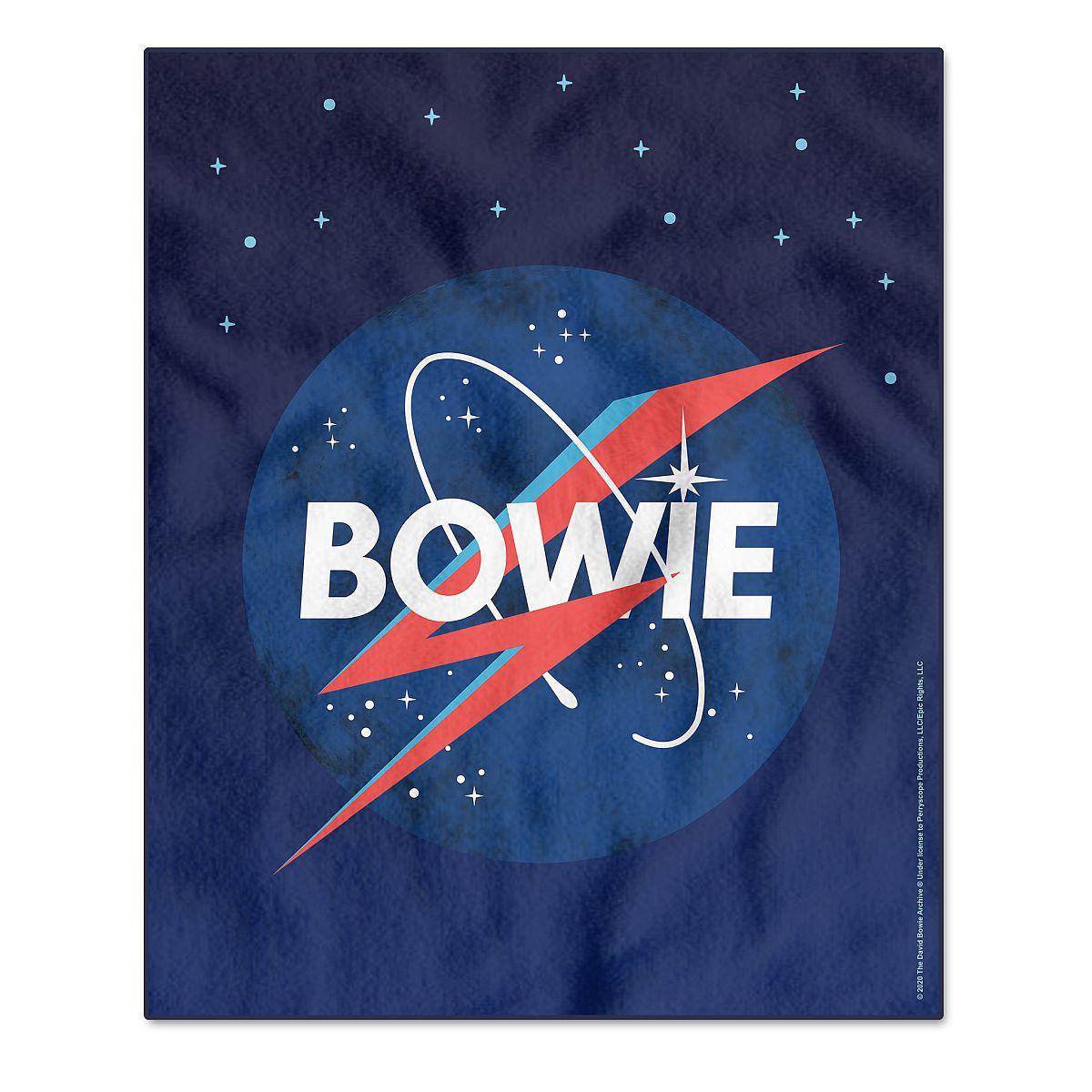 Bowie in Space Fleece Blanket