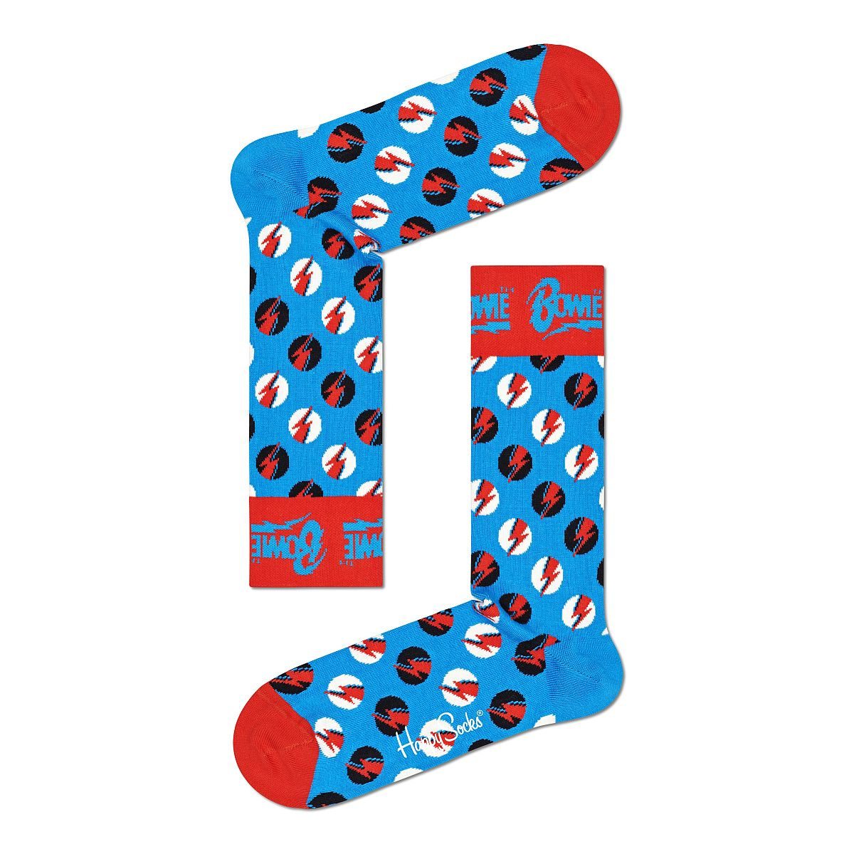Big Bowie Dot Sock