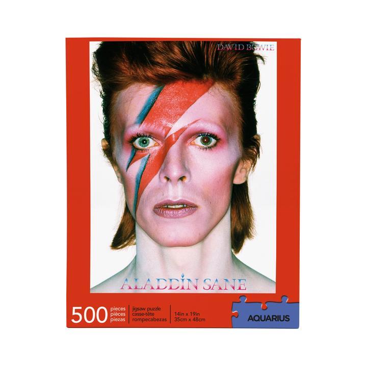 David Bowie Aladdin Sane 500 Piece Jigsaw Puzzle