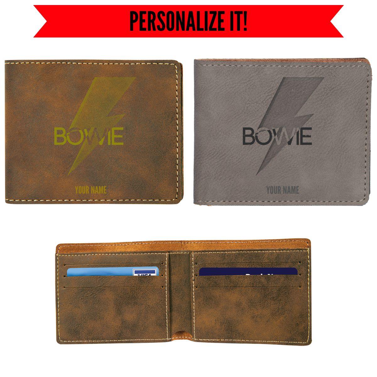 Bold Vegan Leather Wallet
