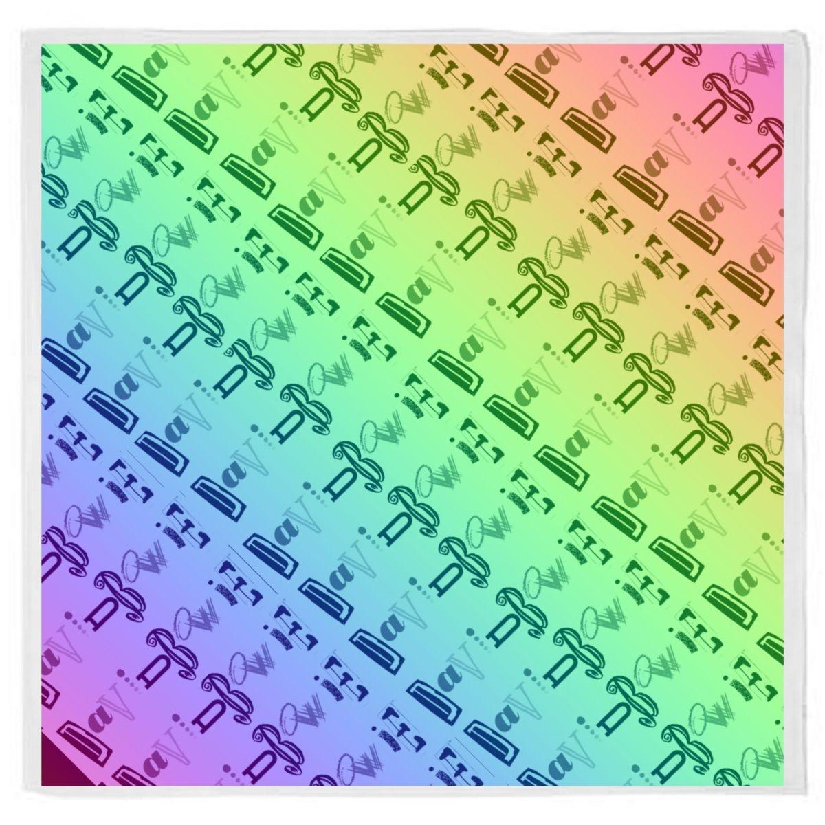 Rainbow Logo Bandana
