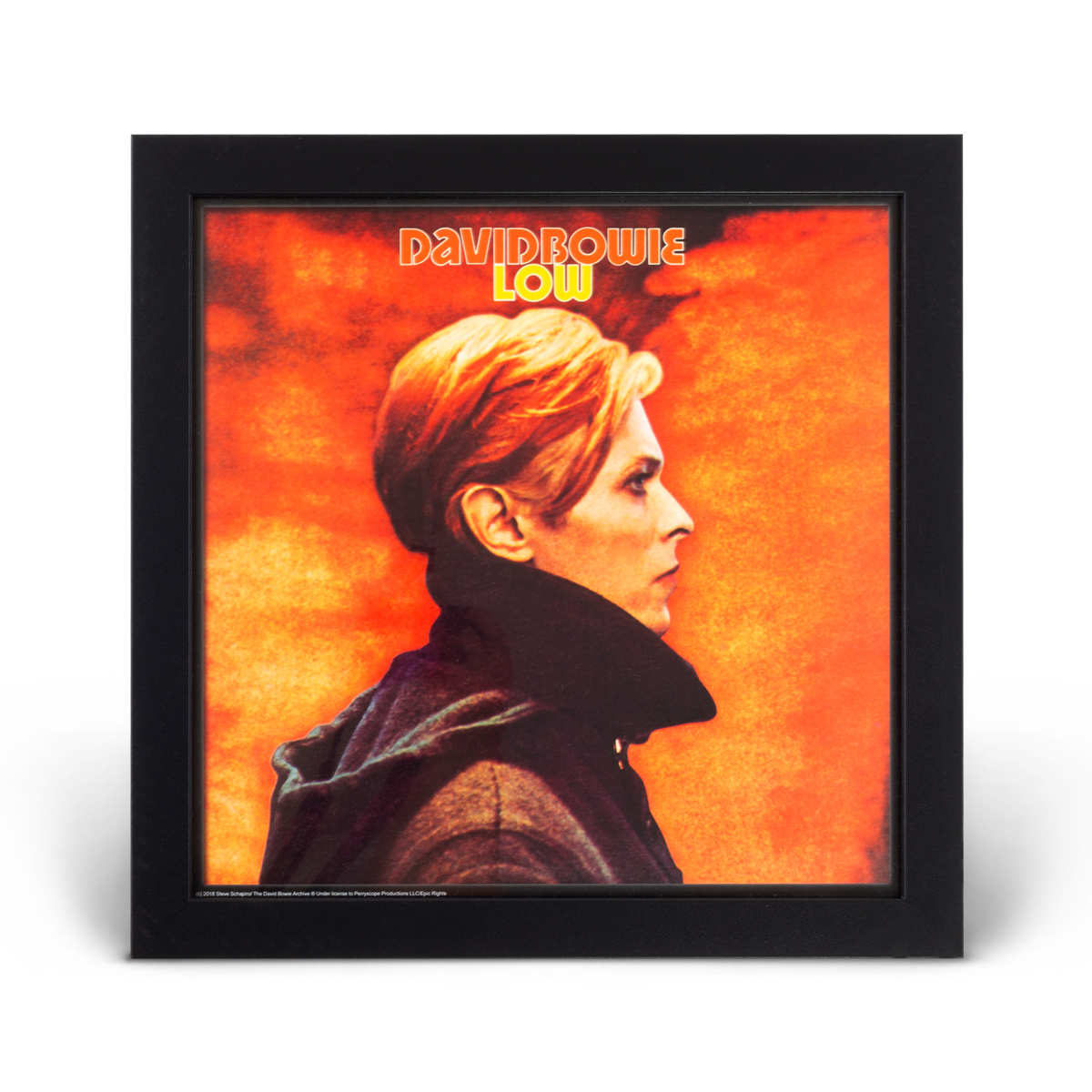 David Bowie Low Framed Picture