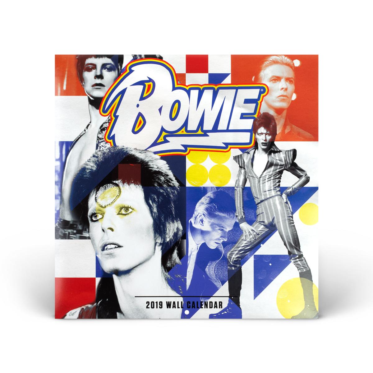 David Bowie 2019 Wall Calendar