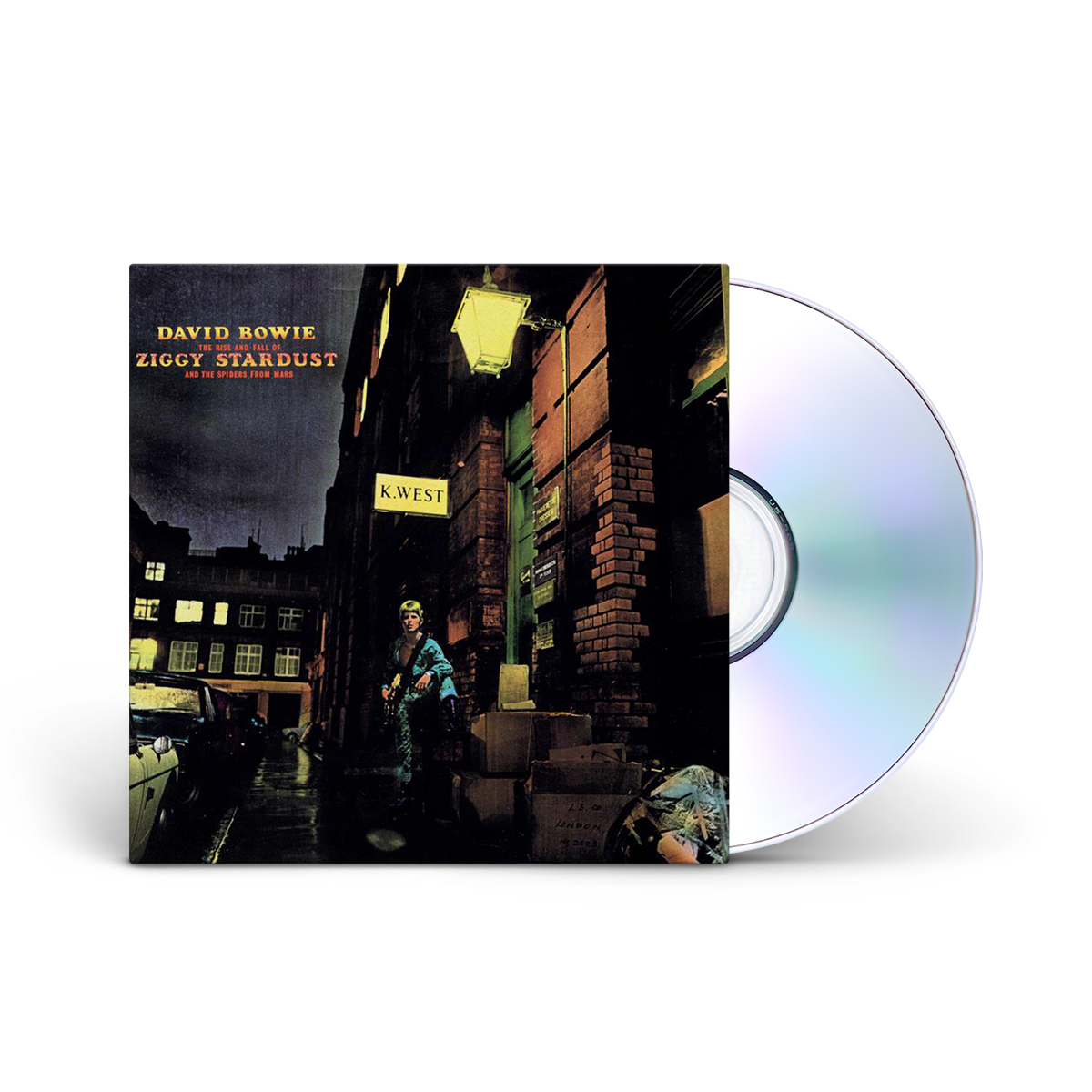 David Bowie The Rise And Fall Of Ziggy Stardust And The Spiders From Mars CD
