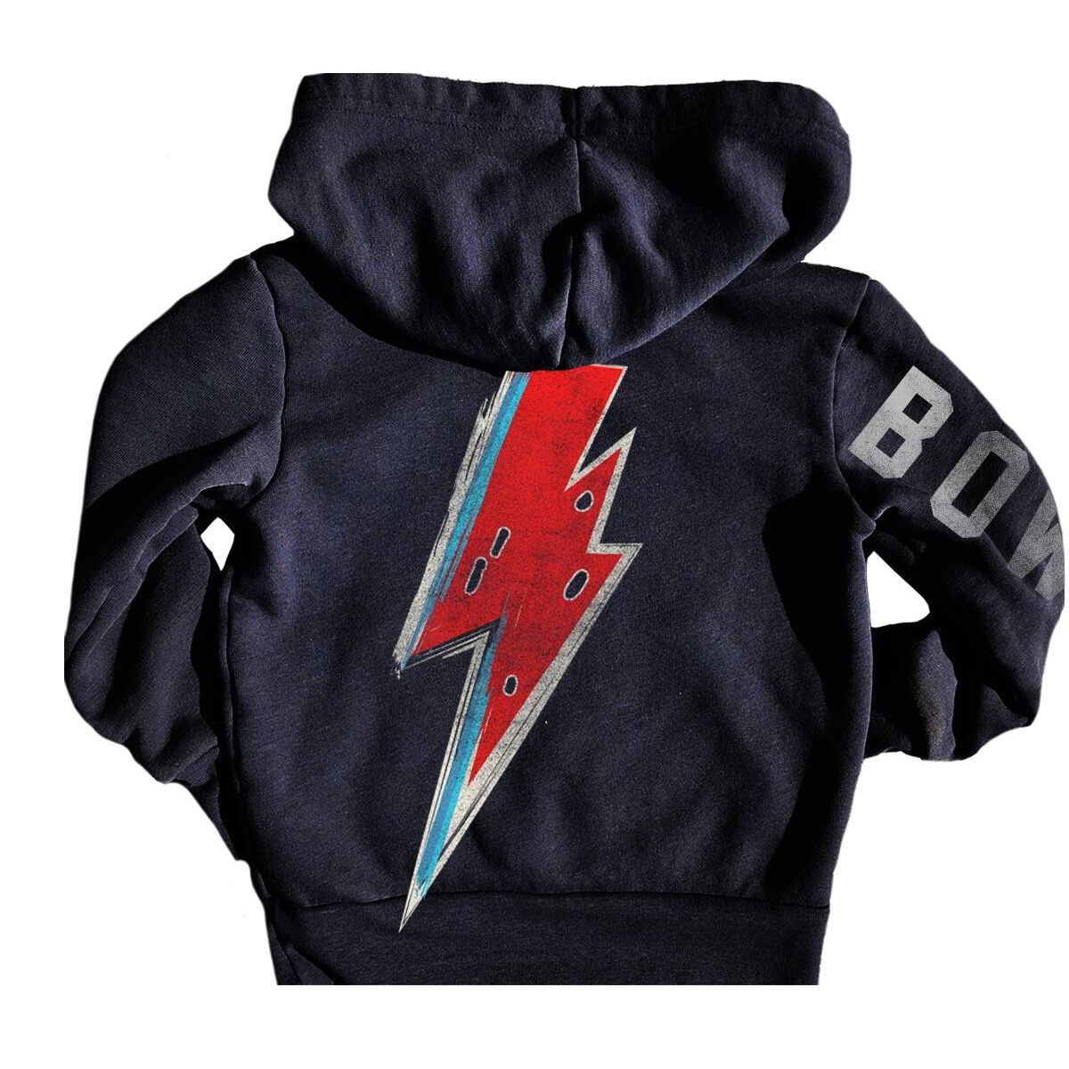 David Bowie Graphic Bolt Hoody