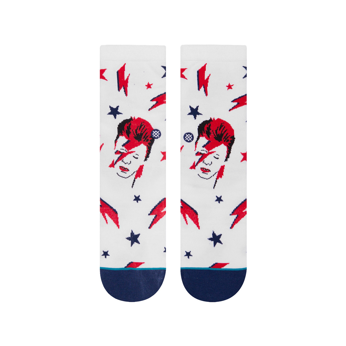 David Bowie Aladdin Sane Youth Socks