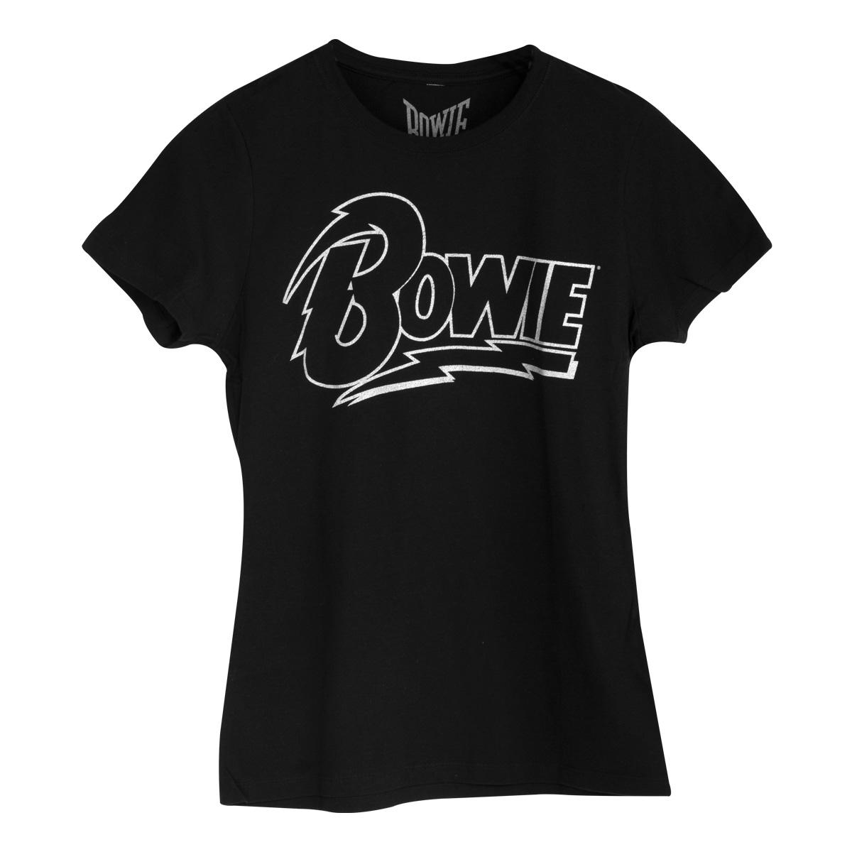 Bowie Outline Juniors T-shirt
