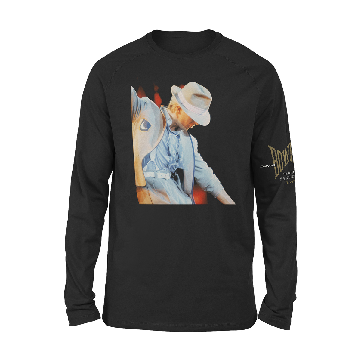 Bowie Serious Moonlight '83 Longsleeve T-shirt