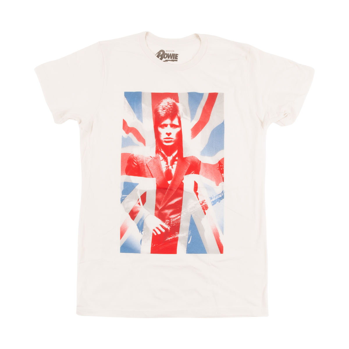 David Bowie Union Jack T-shirt