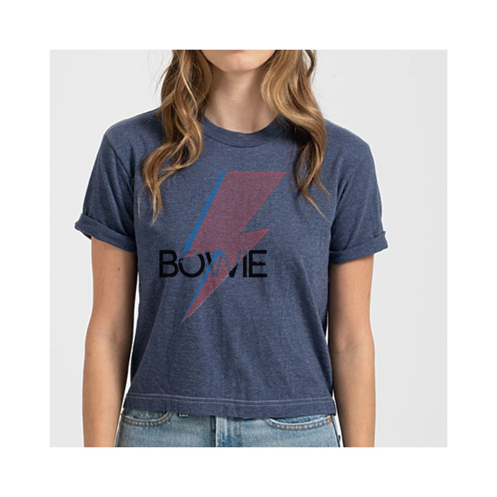 Bowie Bold Retro Crop Top