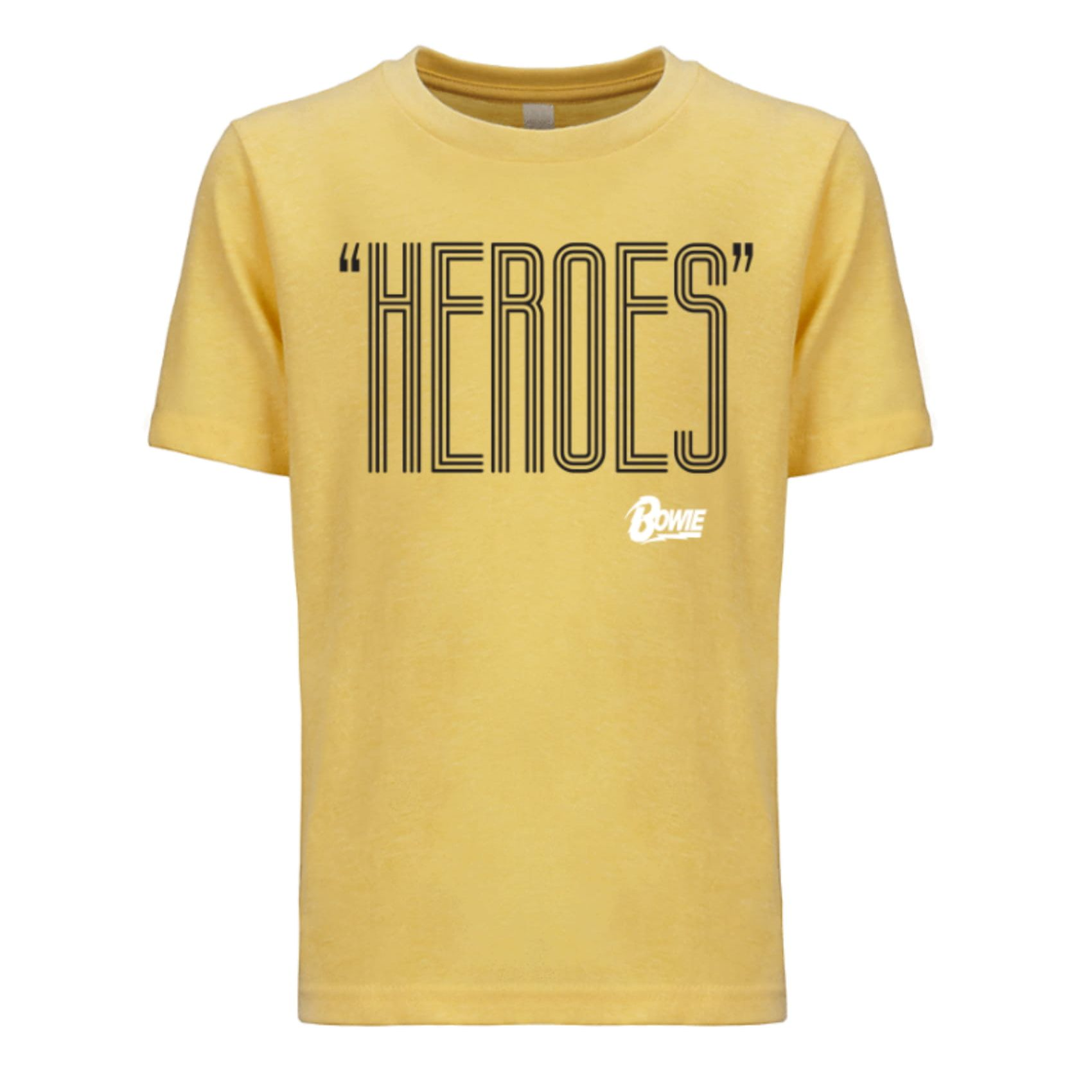 Heroes Black/White Youth Tee