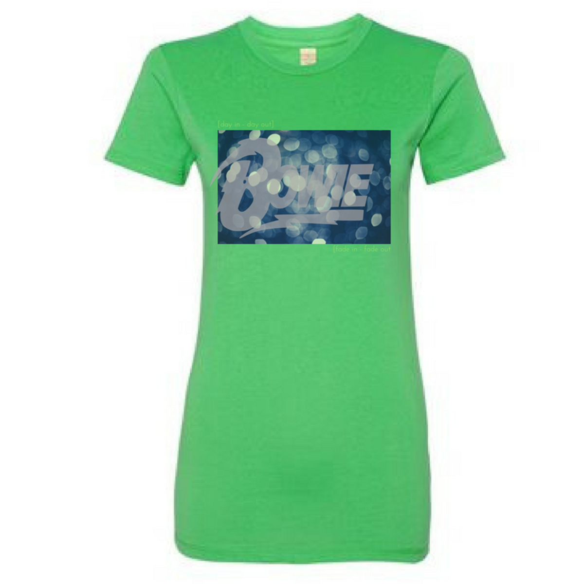 Women's Fade In - Fade Out Lyric T-Shirt