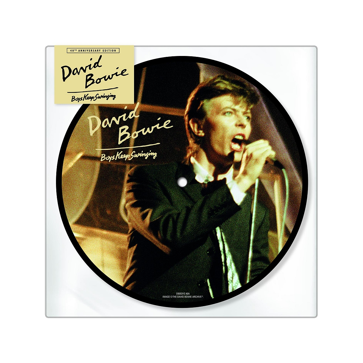Boys Keep Swinging 40th Anniversary Picture Disc