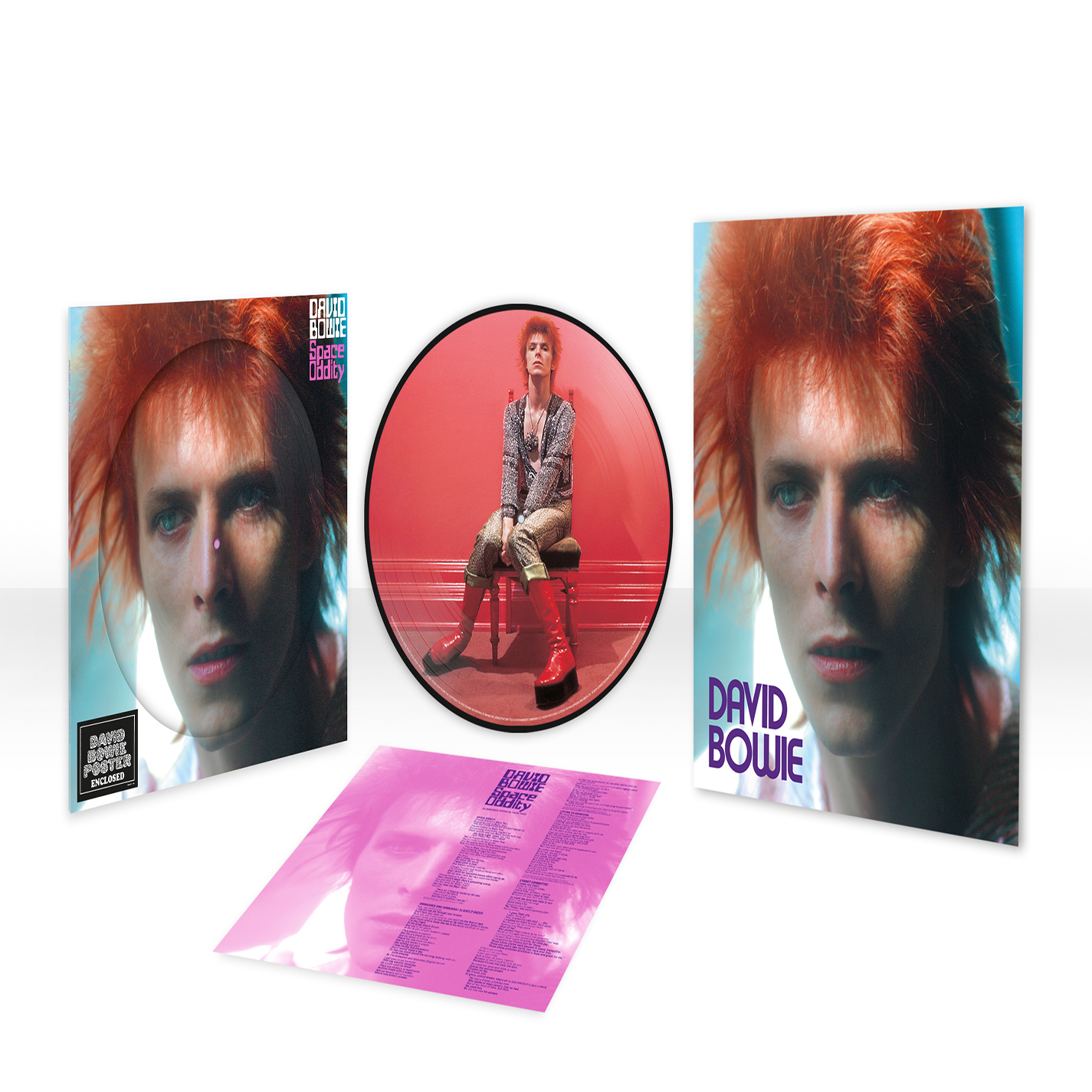 Space Oddity Limited Picture Disc LP
