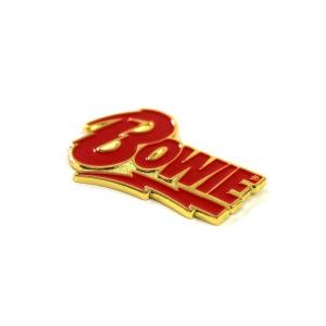 The David Bowie x Sloth Steady Logo Pin
