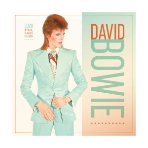 David Bowie 2020 Wall Calendar