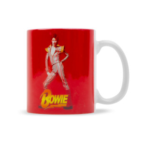 Ziggy Red Ceramic Mug