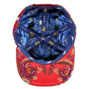 David Bowie Aladdin Sane Red Snapback Hat