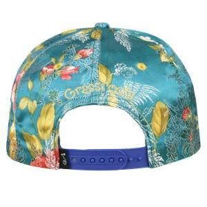 David Bowie Aladdin Sane Teal Snapback Hat