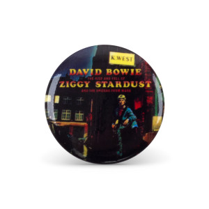 Bowie Ziggy Stardust Button Pin