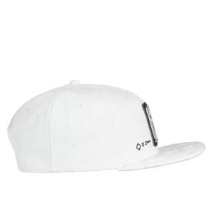 David Bowie Stars White Snapback Hat