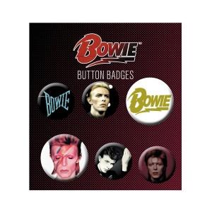Bowie Button Set