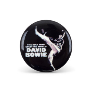 Bowie Sold The World Button Pin