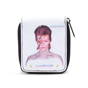 David Bowie Aladdin Sane Zipper Wallet