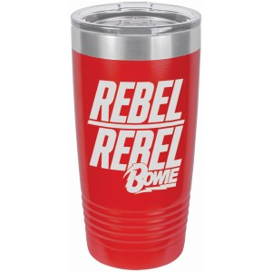 Rebel Rebel Logo Laser Etched Polar Camel Travel Mug