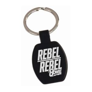 Rebel Rebel Engraved Keychain