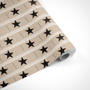 David Bowie Star Wrapping Paper