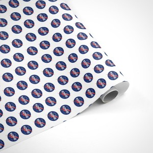 David Bowie Small Logo Wrapping Paper