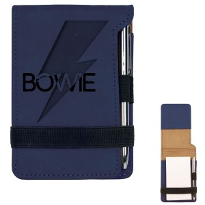 Bowie Bold Mini Notepad w/Pen