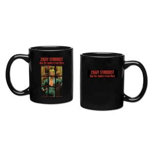 Ziggy Stardust Black Mug