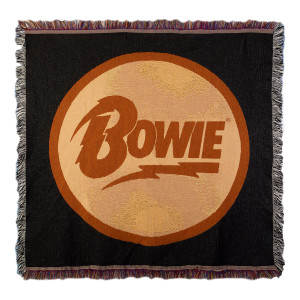 David Bowie Throw Blanket