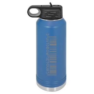Hours 32 oz Polar Camel Water Bottle