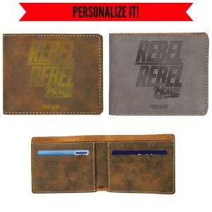 Rebel Vegan Leather Wallet