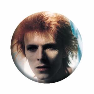 """David Bowie Face 1.25"""" Button"""