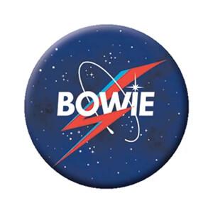 """David Bowie NASA Logo 1.25"""" Button"""