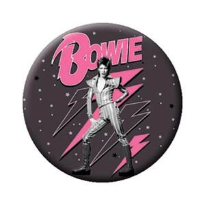 "David Bowie Pink Bolts 1.25"" Button"