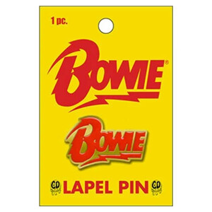 "David Bowie Bolt Logo 1.25"" Lapel Pin"