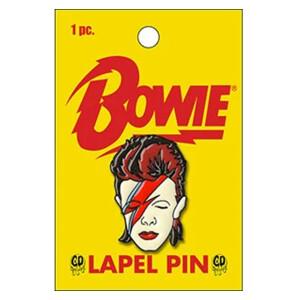 """David Bowie Aladdin Sane 1.25"""" Lapel Pin"""