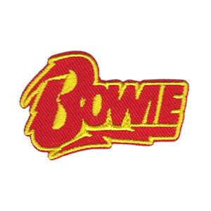"David Bowie Bolt Logo 2"" Patchpins™"