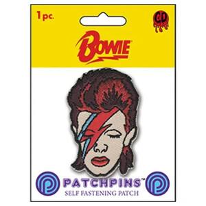 """David Bowie Aladdin Sane 2"""" Patchpins™"""