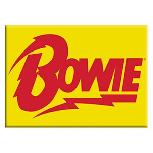 "David Bowie Bolt 2.5""x3.5"" Magnet"