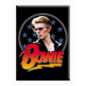 "David Bowie Stars 2.5""x3.5"" Magnet"
