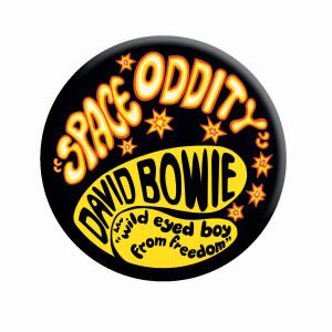 "David Bowie Space Oddity 3"" Round Magnet"