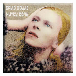 """David Bowie Hunky Dory 3""""x3"""" Magnet"""