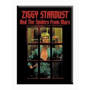 """David Bowie Ziggy Window 2.5""""x3.5"""" Magnet"""