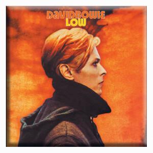 """David Bowie Low 3""""x3"""" Magnet"""